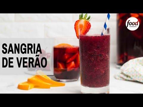SANGRIA DE VERÃO | COZINHA FOOD NETWORK