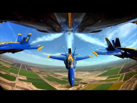 Blue Angels Air Show 1080p (видео)