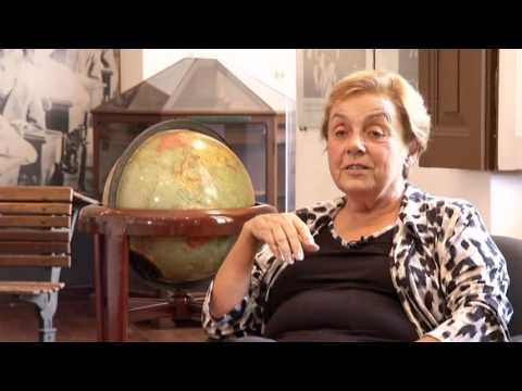A professora Maria Leocádia