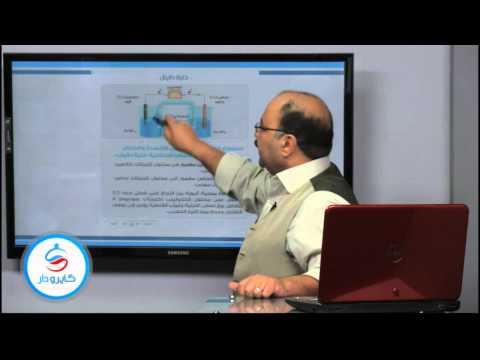 كيمياء - الباب الثامن| الخلايا الجلفانية