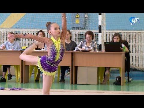 Стартовал чемпионат Новгородской области по художественной гимнастике