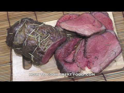 How To Roast Beef - Roast Beef - Oven Roasted Beef - Easy Roast Beef - Beef Recipes -