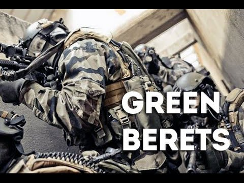 Green Berets Training in Close Quarters Combat - U.S. Army Special Forces at Emerald Dream 2015