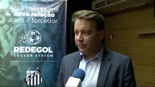 O Santos lançou o projeto Rede Gol, plataforma digital que contempla a venda de ingressos online e controle de acesso ao...