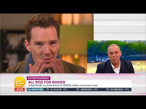 Benedict Cumberbatch sends a message to Judge Rinder ahead of his 1,000th show