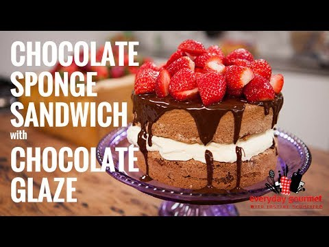 Cadbury Chocolate Sponge with Chocolate Glaze | Everyday Gourmet S6 E75