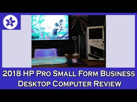 2018 HP Pro Small Form Business Desktop Computer Review: Core i5 3470 3.2Ghz/8G DDR3 RAM/3TB HDD/VGA