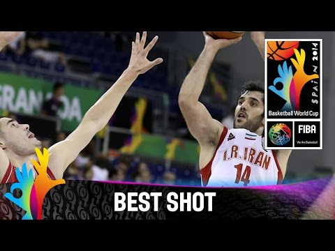 Shot - Watch Samad Nikkhah Bahrami's great three pointer v Serbia. The 2014 FIBA Basketball World Cup will take place in Spain from 30 August - 14 September and will feature the best international...