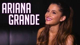 Ariana Grande: Sings, curses and talks kissing Mac Miller!