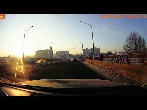 ДТП на «северном» путепроводе 27.02.2017