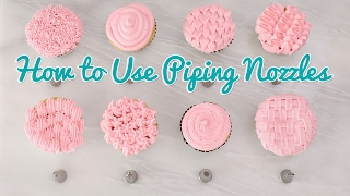 How to Use Piping Nozzles - Gemma's Bold Baking Basics Ep 35 by Gemma's Bigger Bolder Baking