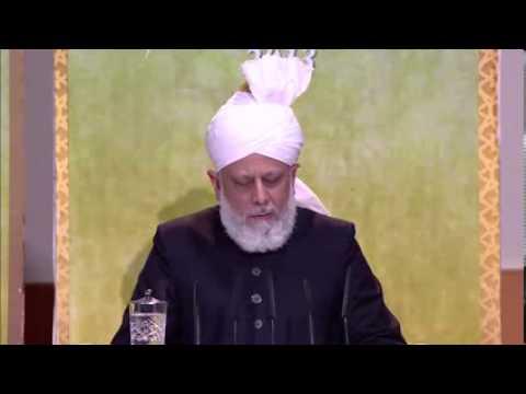 Ahmadiyya Peace Symposium 2013 - U.K.