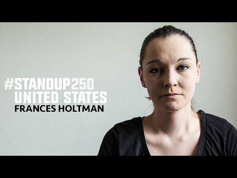 #StandUp250 United States - Frances Holtman