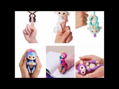 Download Genuine WowWee Smart Fingerlings- Interactive Baby Monkey- Free shipping HD Mp4 3GP Video and MP3