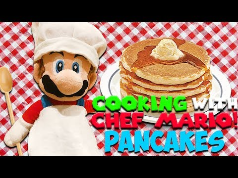 "SM134 Short: Cooking With Chef Mario! ""Pancakes"""