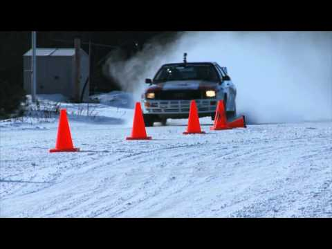 Audi quattro Rally Driving