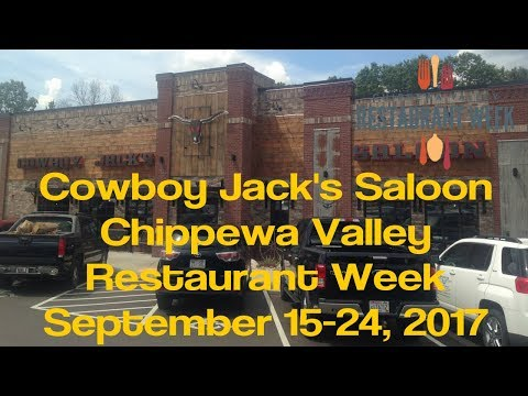 Cowboy Jacks - Chippewa Valley Restaurant Week - Eau Claire WI - Sept 2017
