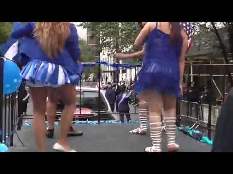 Chicas de Honduras Bailando Punta - Desfile Hispanidad 2016 - New York City