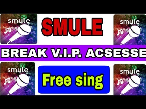 How To Sing In Smule For Free || How To Get Free Vip Pass || Free Sing In Smule