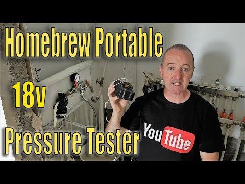 Fantastic Hombrew Portable Pressure Tester (видео)