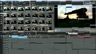 PowerDirector 10 - How to create time-lapse slideshow