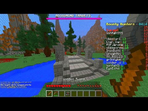 bounty - Minecraft Minigame: Bounty Hunter! Enjoy! Like my Facebook Page: http://www.facebook.com/Vikkstar123 Follow me on TWITTER: http://twitter.com/#!/Vikkstar123 My Instagram: http://instagram.com/Vikk...