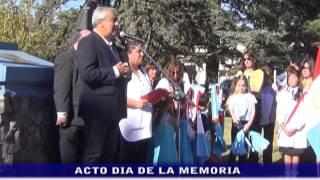 POLEMICO ACTO DIA DE LA MEMORIA: DECLARACIONES DE LA DIRECTORA ALFREDO BENITZ