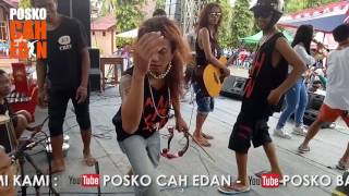 Arif Citenx feat Ben Edan ala Gandrung acara Diesnatalis SMAN 1 Pesanggaran