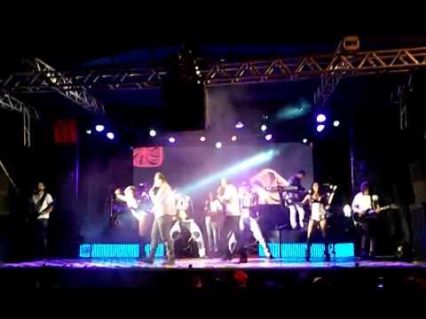 Show virada em Santa Mariana