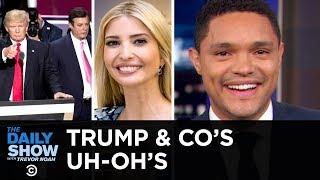 Manafort's Double Flip, Trump's Climate Change Gibberish & Ivanka's Email Snafu | The Daily Show