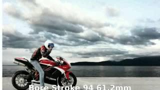 8. Ducati 848 Evo  motorbike Specs