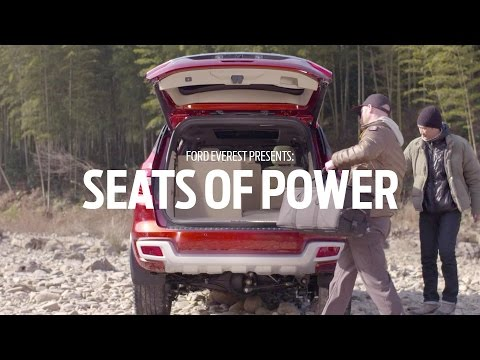 Ford Everest: Seats of Power