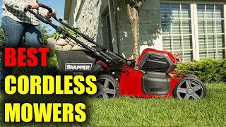 4. Best Cordless Mower On Existing Market   Cordless Mower Review 2018   Cordless Battery Power Mower