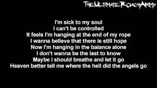 Papa Roach - Where Did The Angels Go {Lyrics on screen} HD