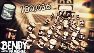 100.000 BACON SOUP HACK!! WOW O-o | Bendy and the Ink Machine [Nightmare Run] Pre-Alpha Gameplay