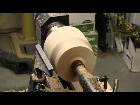 NewWoodworker Presents: Yarn Bowl Project (Excelsior Mini Lathe & Oneway Talon Chuck)