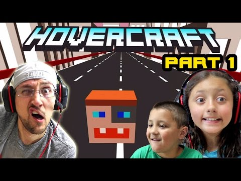 Dad & Kids Play HOVERCRAFT Part 1: The DUDDY Craft!  Our 1st High Score! (FGTEEV FAMILY GAMEPLAY)