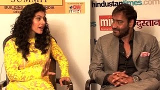 Kajol and Ajay Devgn speak about their marriage and Ajay's on-screen chemistry with other women.