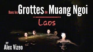 Muang Ngoy Laos  city images : LAOS : dans les GROTTES aquatiques de Muang Ngoi