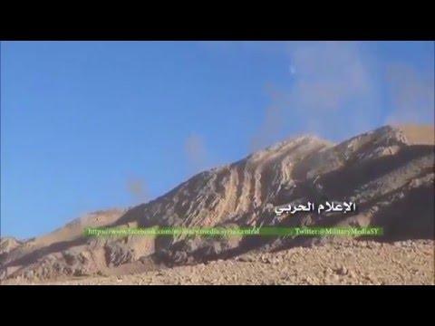 Вертолёты ВКС РФ бьют по позициям ИГ в горах