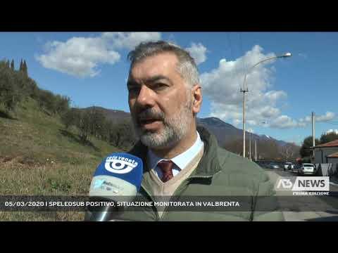 05/03/2020   SPELEOSUB POSITIVO, SITUAZIONE MONITORATA IN VALBRENTA