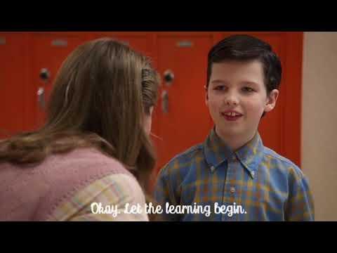 Young Sheldon SO1E1 Best Scene- Sheldon first day in school