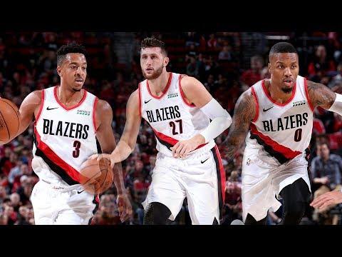 Video: The Best of Lillard, McCollum, and Nurkic in Portland's Match-up with Utah | 2018 NBA Preseason