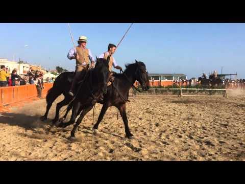 I cavalieri protagonisti alla seconda edizione della fiera delle tradizioni maremmane FOTO-VIDEO