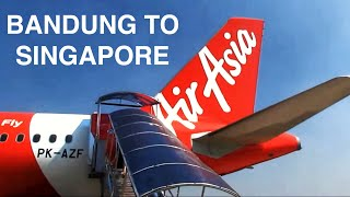 Video Airasia Flight Experience Bandung to Singapore MP3, 3GP, MP4, WEBM, AVI, FLV Juli 2018