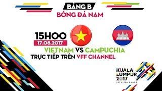 Video FULL   U22 VIỆT NAM vs U22 CAMPUCHIA   BẢNG B BÓNG ĐÁ NAM SEA GAMES 29 MP3, 3GP, MP4, WEBM, AVI, FLV Agustus 2017
