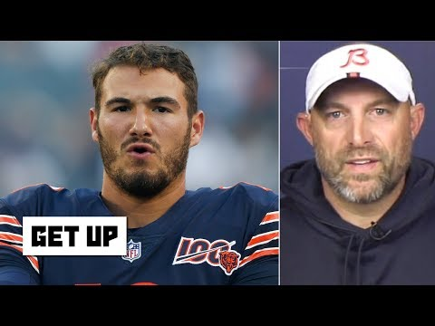 Video: The Bears are giving QB Mitchell Trubisky the 'keys to the car' – Matt Nagy | Get Up