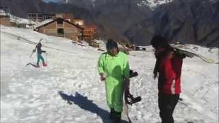 Auli India  city photos gallery : Snowboarding/Skiing in Auli, Uttrakhand India