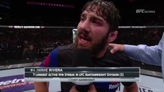 Fight Night Long Island: Jimmie Rivera Octagon Interview by UFC
