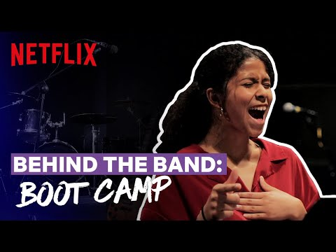 Behind the Band Ep 2: Boot Camp | Julie and the Phantoms | Netflix Futures